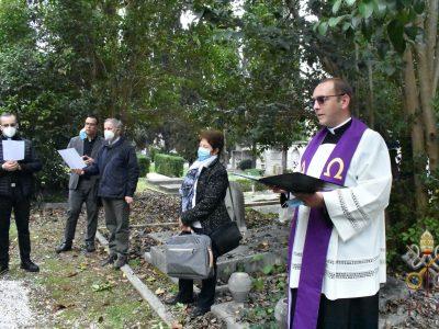 Mindenszentek ünnepe a Pápai Magyar Intézetben (2020)